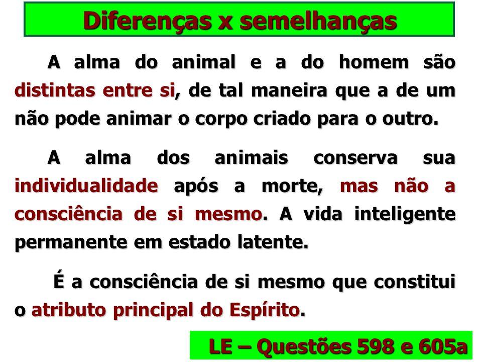 Memória nos animais A memória, como o pensamento, são atributos que vamos encontrar nos animais, mas menos desenvolvidos, ainda em germe. A memória, c