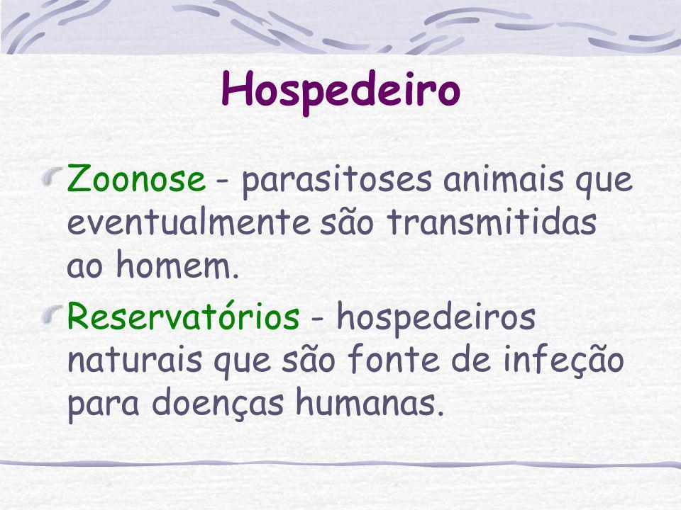 Hospedeiro Organismo que constitui o habitat normal de um parasito. O parasito necessita instalar-se nele para poder sobreviver (crescer e multiplicar