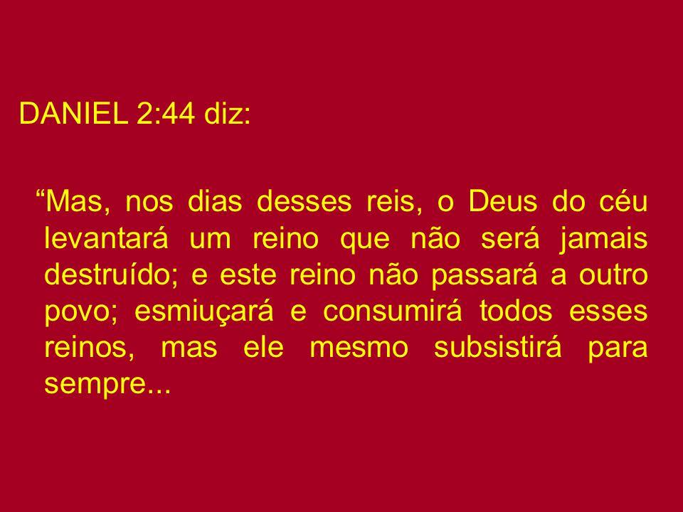 """Apocalipse 18:4 diz: """"E ouvi outra voz do céu, que dizia: Sai dela, povo meu, para que não sejas participante dos seus pecados, e para que não incorra"""