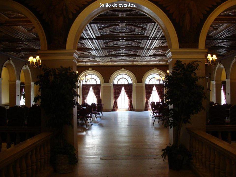 Salão de eventos.
