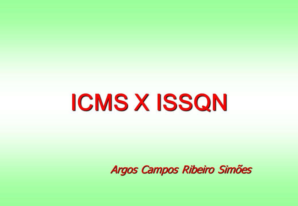 ICMS X ISSQN Argos Campos Ribeiro Simões