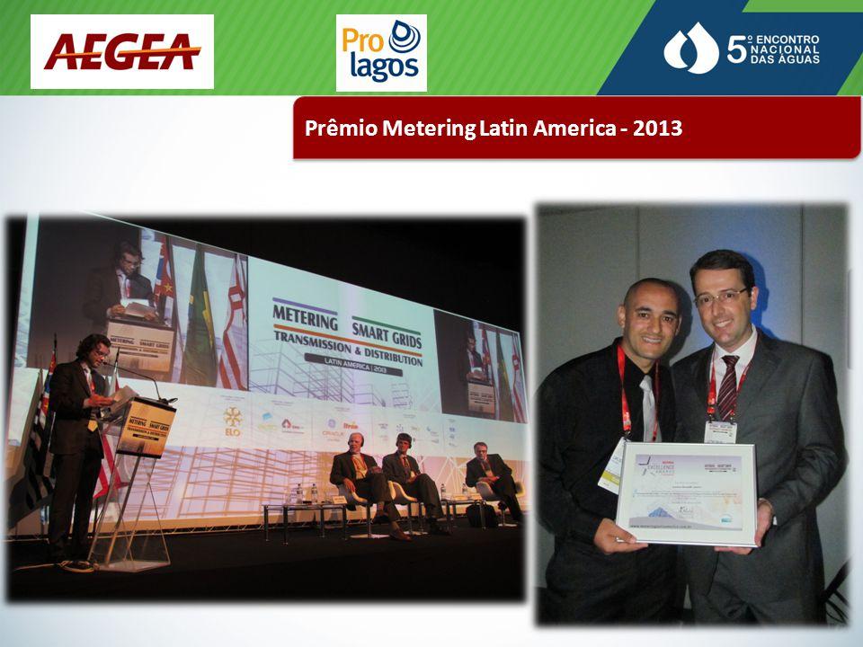 Prêmio Metering Latin America - 2013