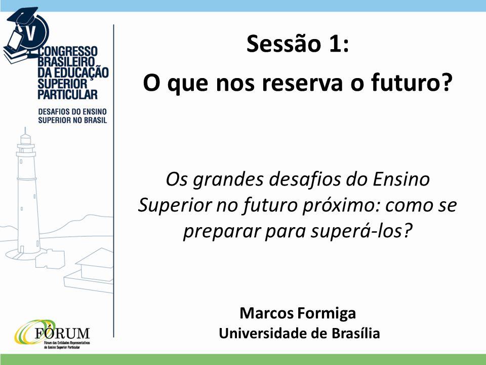 Sessão 1: O que nos reserva o futuro.