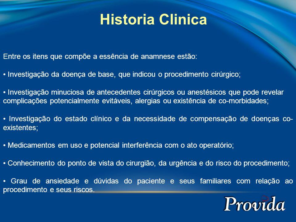 AVALIAÇÃO PERIOPERATÓRIA Dr. João Gustavo G. Ferraz