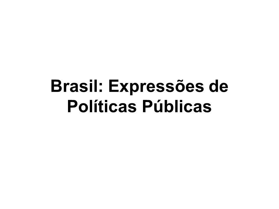 Brasil: Expressões de Políticas Públicas (1) Resolução CONAMA no.
