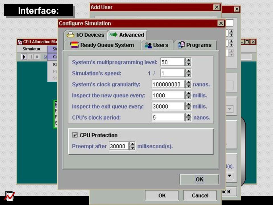 WSO 2006, Campo Grande Quantum 8 Quantum 16 FIFO Interface: