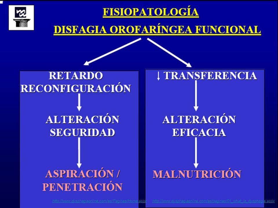 Aspiração durante a deglutição http://www.dysphagiaonline.com/es/Paginas/Home.aspxhttp://www.dysphagiaonline.com/es/Paginas/Home.aspx http://www.dysphagiaonline.com/es/paginas/01_what_is_dysphagia.aspxhttp://www.dysphagiaonline.com/es/paginas/01_what_is_dysphagia.aspx