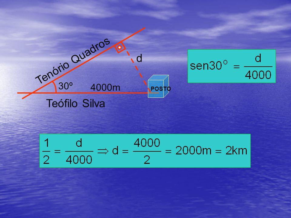 Tenório Quadros 30º Teófilo Silva POSTO d 4000m