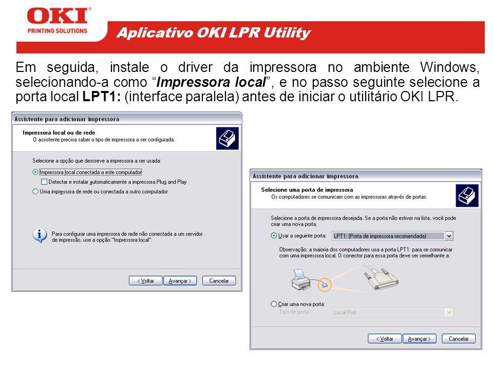 A opção Operator Panel Lockout , permite travar o painel de operação da impressora para impedir o acesso indevido por parte de usuários e evi- tar alterações que possam configurar incorretamente a impressora.