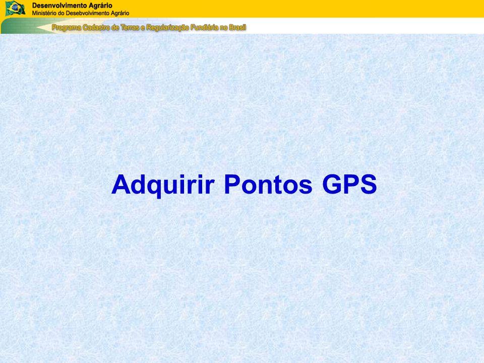 Adquirir Pontos GPS
