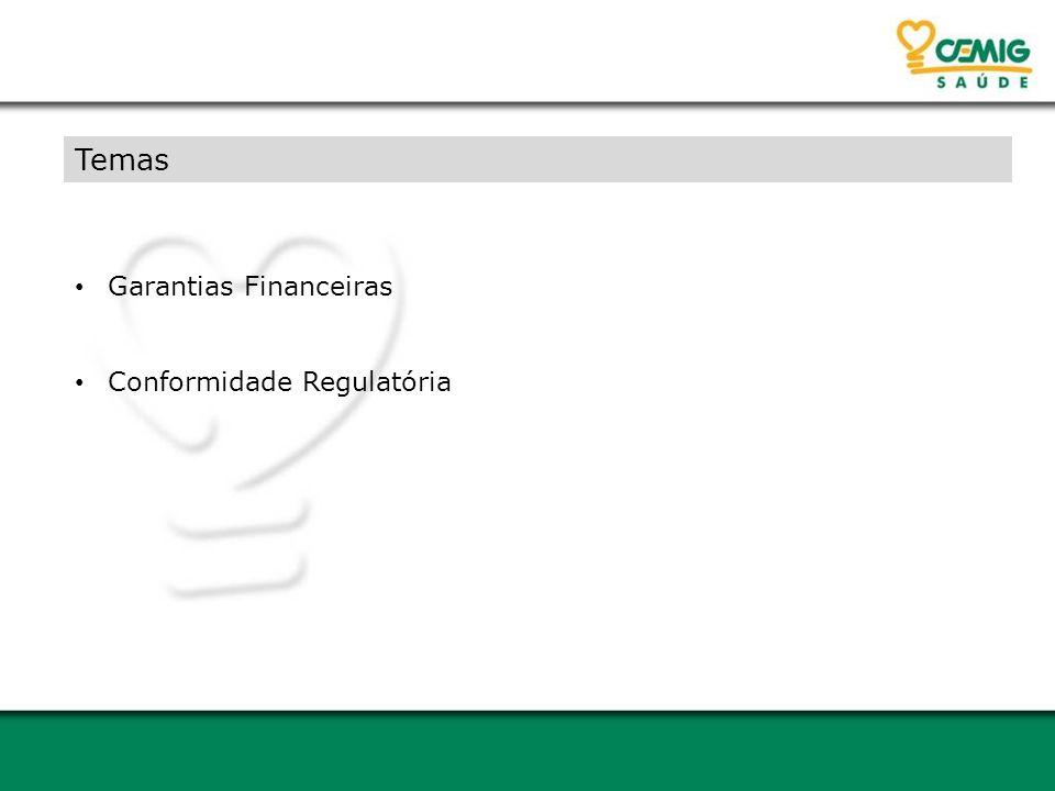 Temas Garantias Financeiras Conformidade Regulatória
