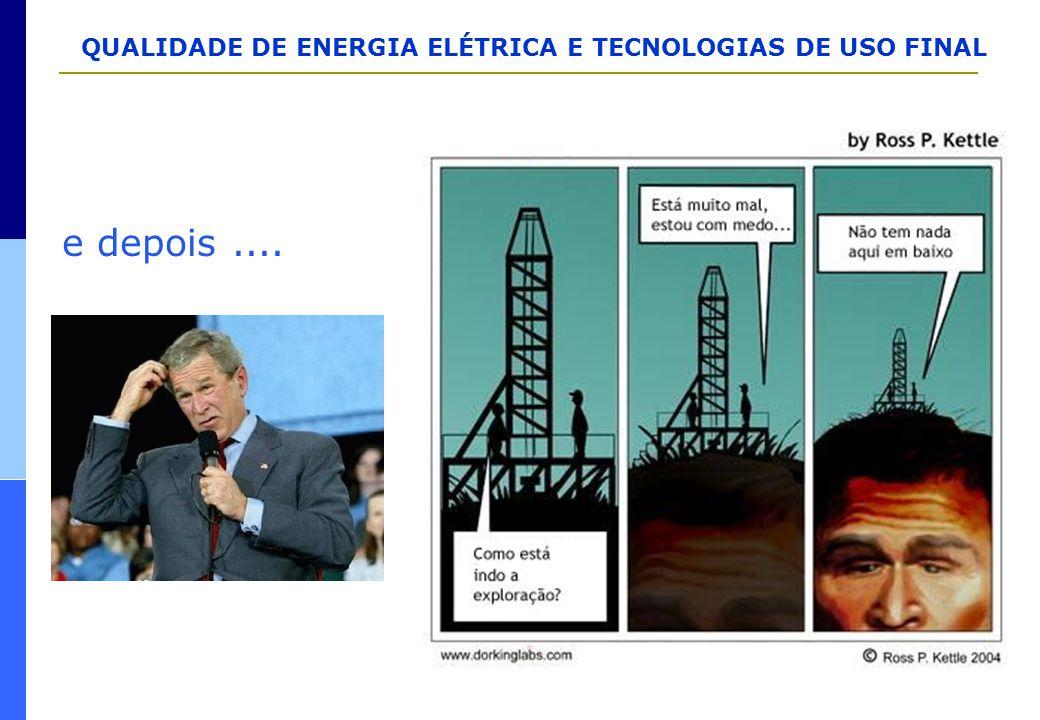 QUALIDADE DE ENERGIA ELÉTRICA E TECNOLOGIAS DE USO FINAL e depois....