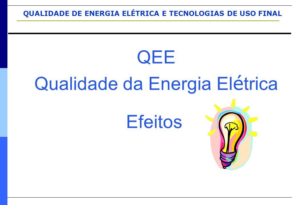 QEE Qualidade da Energia El é trica Efeitos