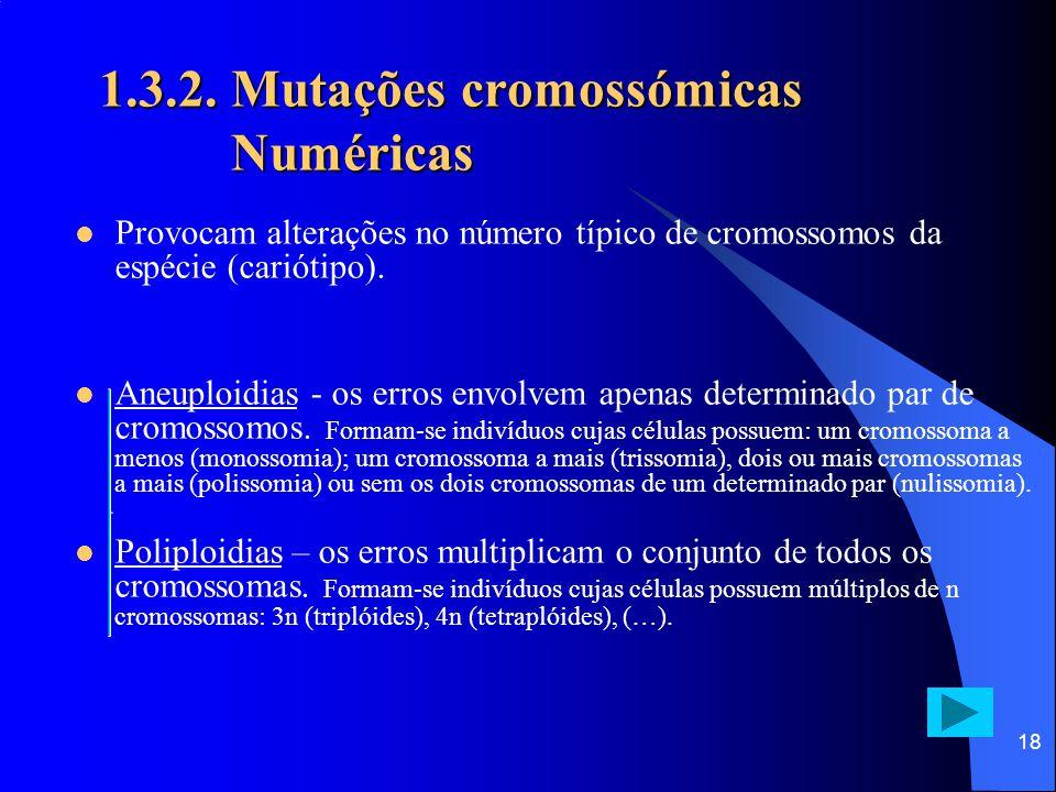 """17 1.3.2. Mutações cromossómicas Estruturais Síndroma do """"Grito do gato"""" – exemplo de delecção"""