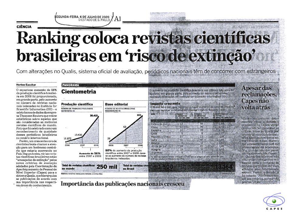 Jornal da Ciência, Julho 2009