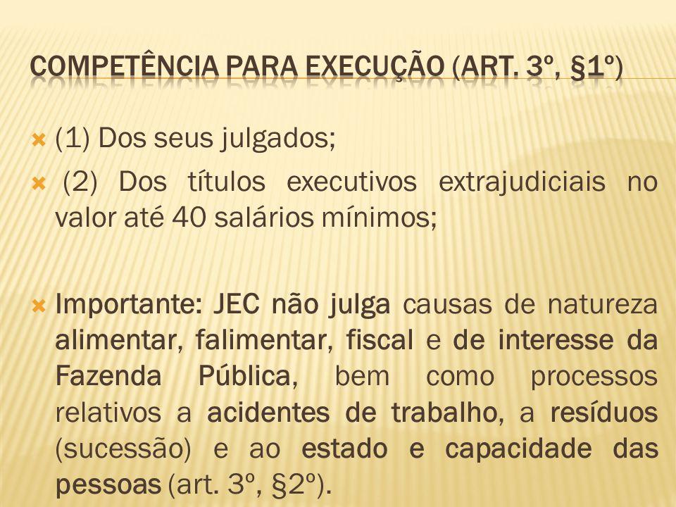  Dispensado o relatório da sentença no JEC.