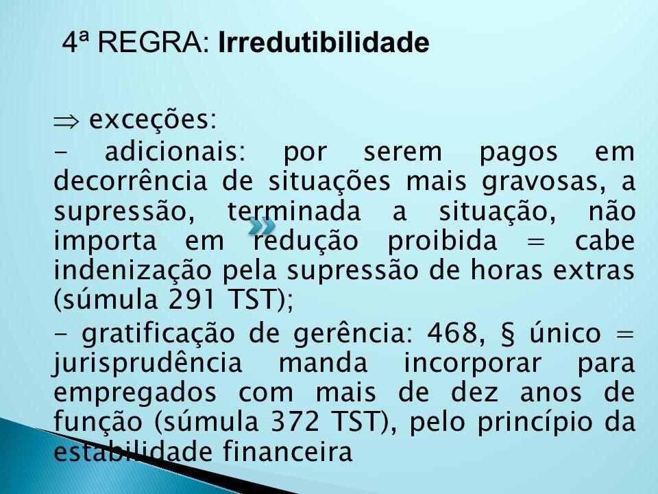  artigo 7º, VI CF: São direitos dos trabalhadores urbanos e rurais, além de outros que visem à melhoria de sua condição social: VI - irredutibilidade