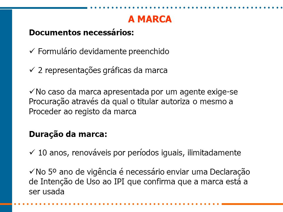 A MARCA INTERNACIONAL Moçambique ratificou o Acordo e o Protocolo de Madrid que Permite o registo internacional de marcas Vantagens Fazer um único pedido de registo Numa única língua Pagar taxas no próprio país Obter uma marca válida nos países pretendidos Onde registar uma marca internacional.