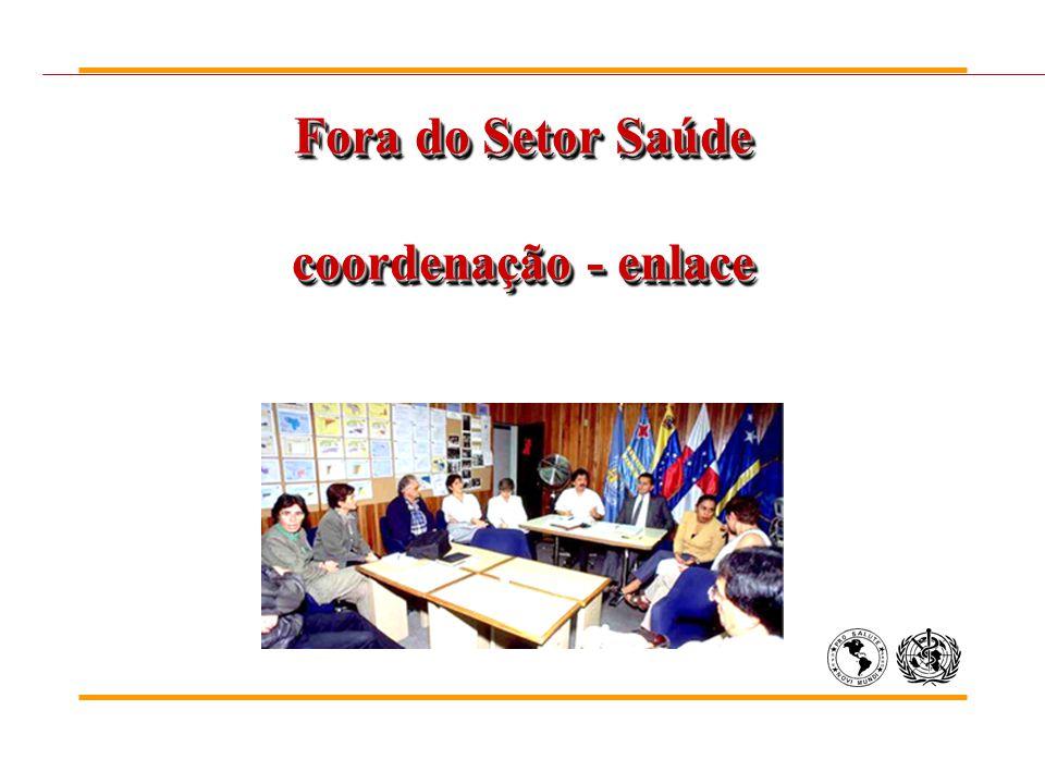 Fora do Setor Saúde coordenação - enlace
