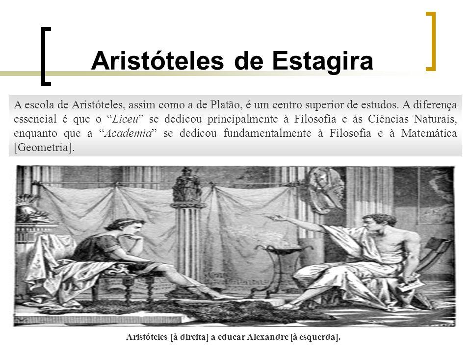 Aristóteles de Estagira A Metafísica ou Filosofia Primeira A Metafísica é o ramo do conhecimento que procura atingir à realidade intima das coisas, a saber: substância ou essência.