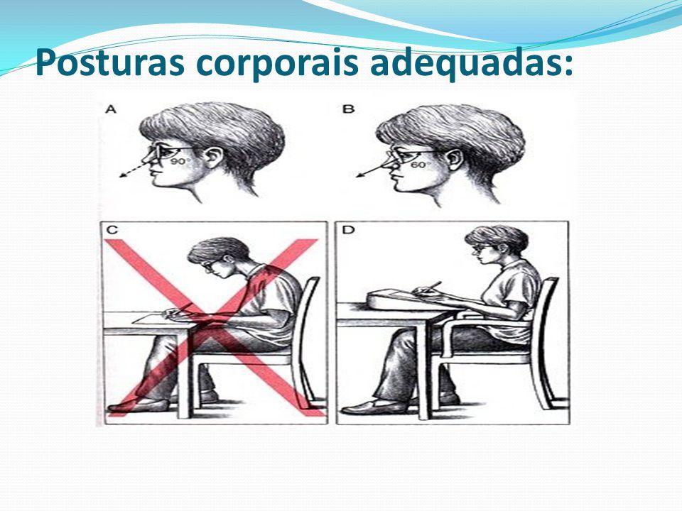 Posturas corporais adequadas: