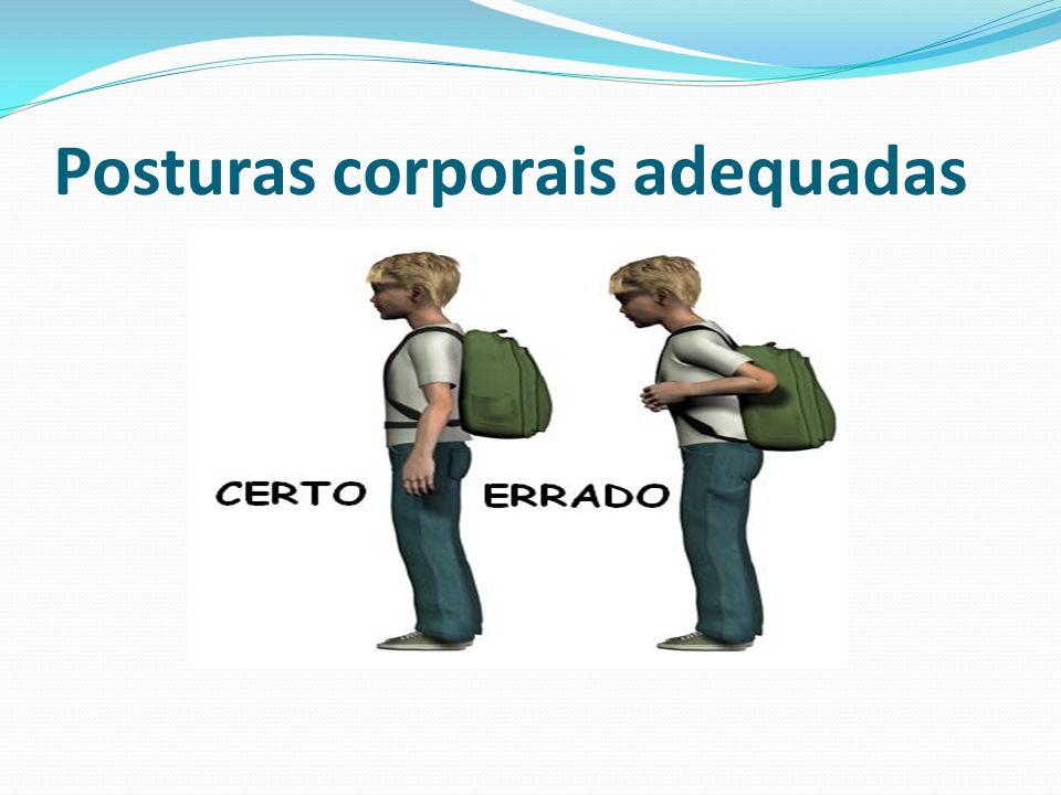 Posturas corporais adequadas