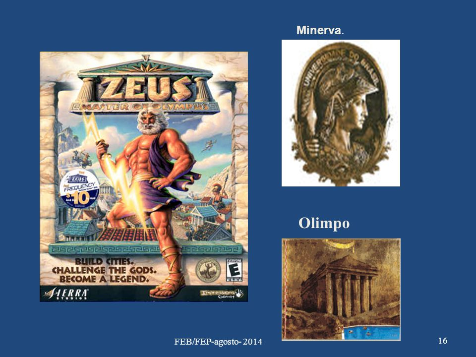 Minerva. Olimpo 16 FEB/FEP-agosto- 2014