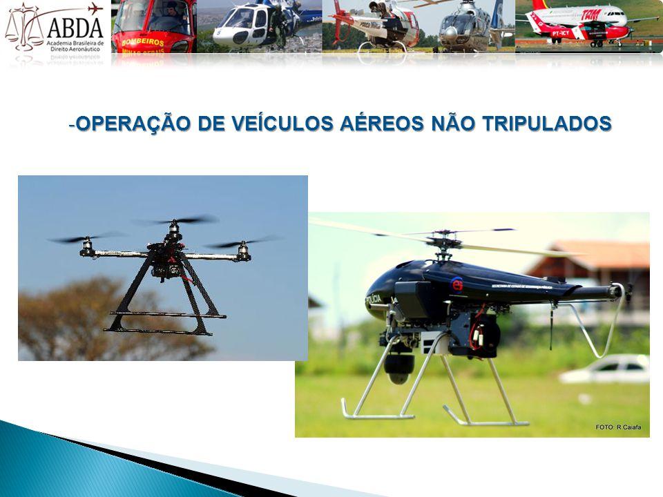 -OPERAÇÃO DE VEÍCULOS AÉREOS NÃO TRIPULADOS