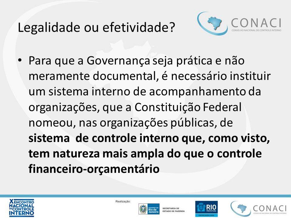 Legalidade ou efetividade? Para que a Governança seja prática e não meramente documental, é necessário instituir um sistema interno de acompanhamento