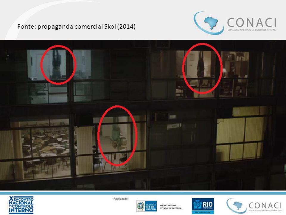 Fonte: propaganda comercial Skol (2014)