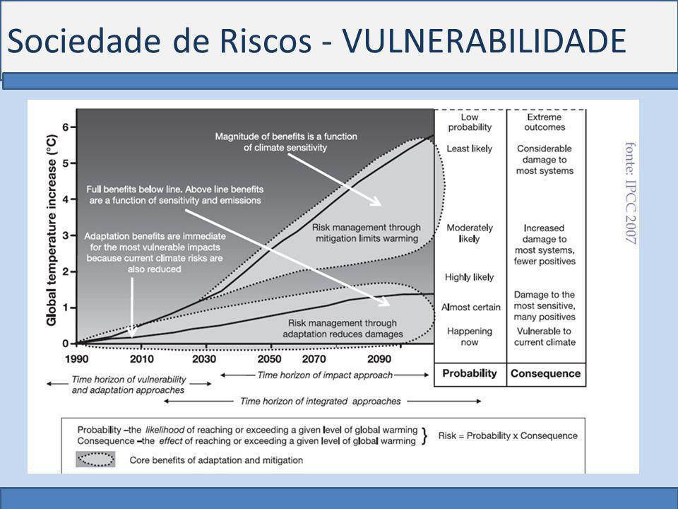 Sociedade de Riscos - VULNERABILIDADE