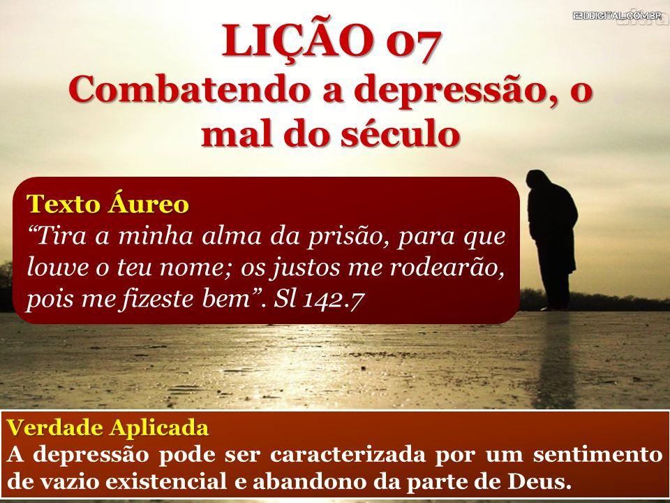 Texto Áureo Tira a minha alma da prisão, para que louve o teu nome; os justos me rodearão, pois me fizeste bem .
