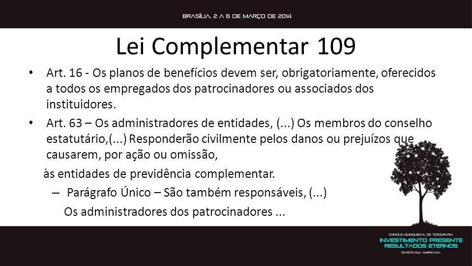 Lei Complementar 109 Art.