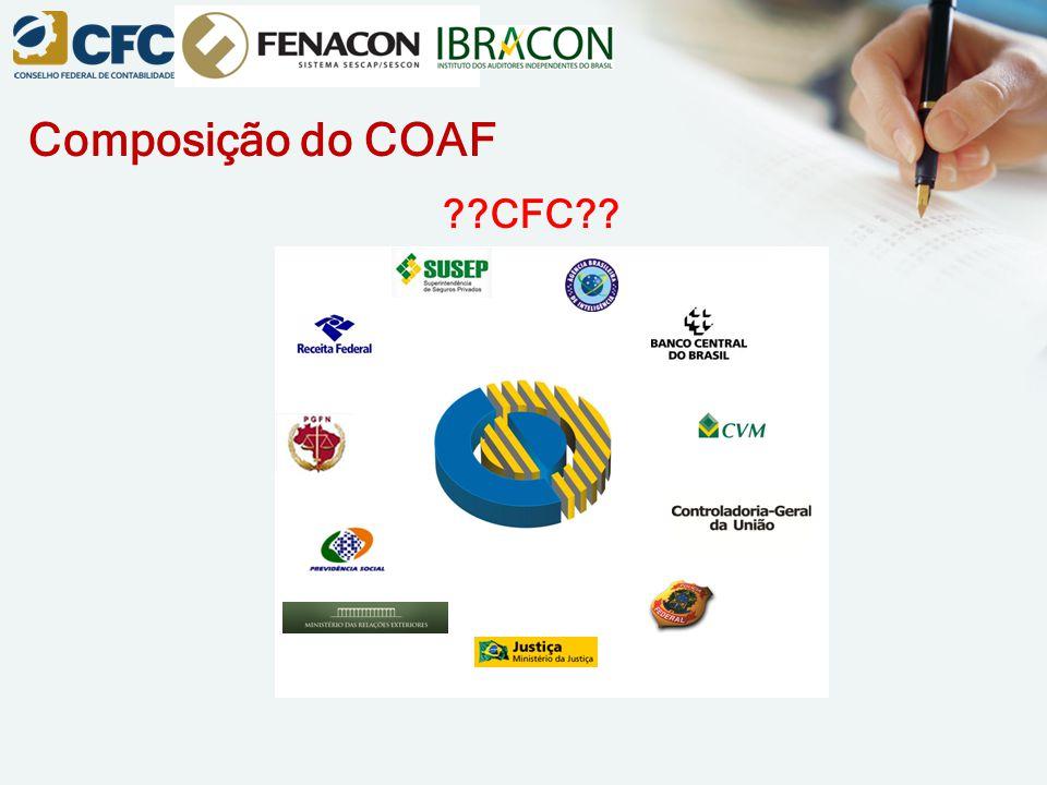 Composição do COAF ??CFC??