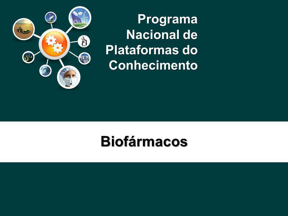Programa Nacional de Plataformas do Conhecimento Biofármacos