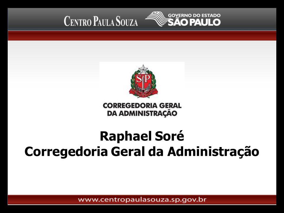 Raphael Soré Corregedoria Geral da Administração