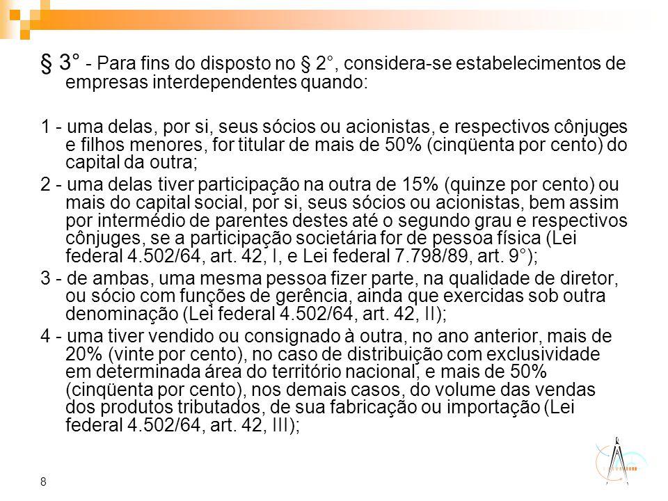 29 Tributação Leite UHT (Longa Vida) Decretos 52.381 e 52.586 Para leite uht produzido em São Paulo.