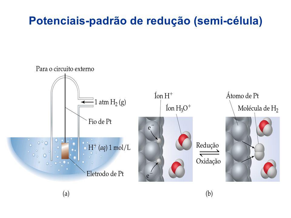 O fluxo de elétrons do anodo para o catodo é espontâneo; Os elétrons fluem do anodo para o catodo porque o catodo tem uma energia potencial elétrica m