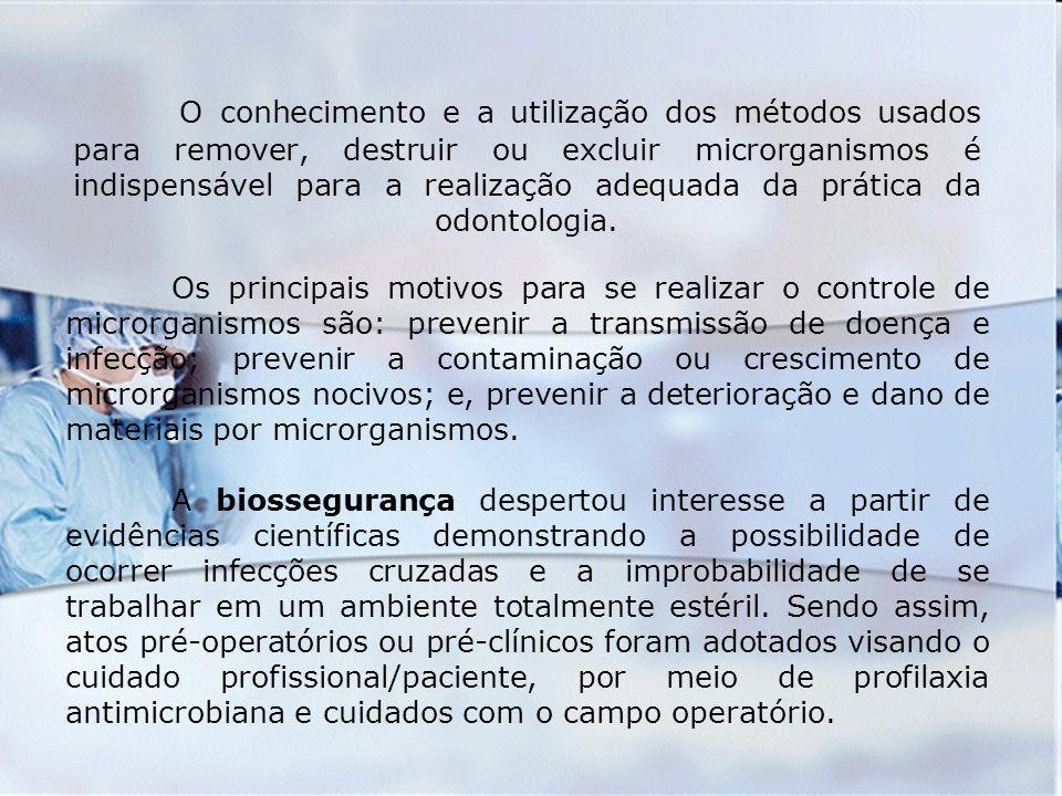 CONCEITOS Profilaxia - são medidas tomadas para preservar a saúde e prevenir a disseminação de doenças.
