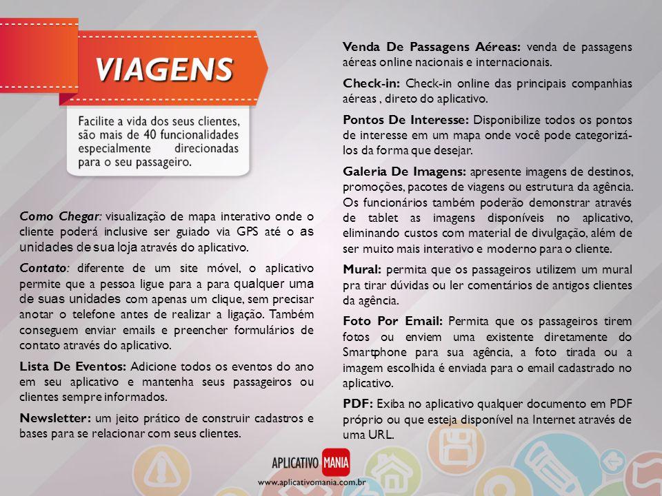 Venda De Passagens Aéreas: venda de passagens aéreas online nacionais e internacionais.