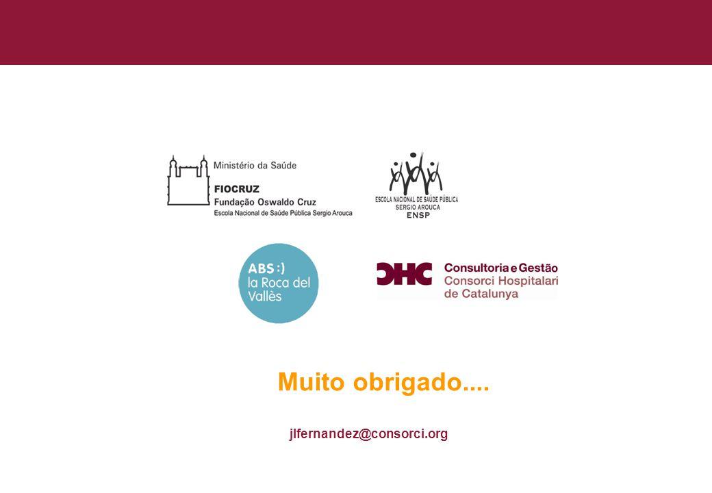 Título general da apresentação - CHC Consultoria e Gestão 44 jlfernandez@consorci.org Muito obrigado....