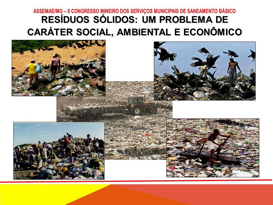 POLÍTICA NACIONAL DE RESIDUOS SÓLIDOS E SEUS REFLEXOS PARA O MUNICÍPIO: NOVOS PARADIGAMAS VELHOS PROBLEMAS! Ituiutaba, 05 de março de 2013