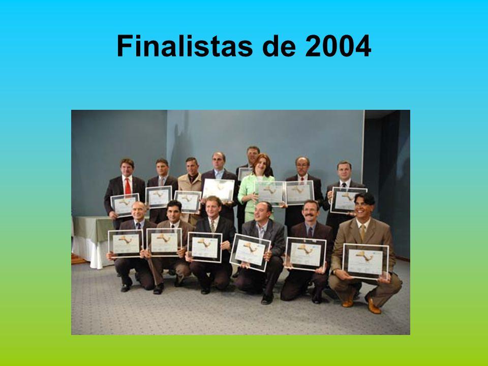 2004 – Finalista 2005 – Destaque 2006 - Vencedora