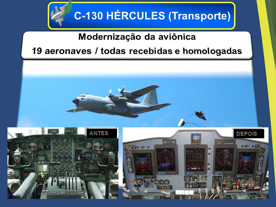 ANTES DEPOIS C-130 HÉRCULES (Transporte)