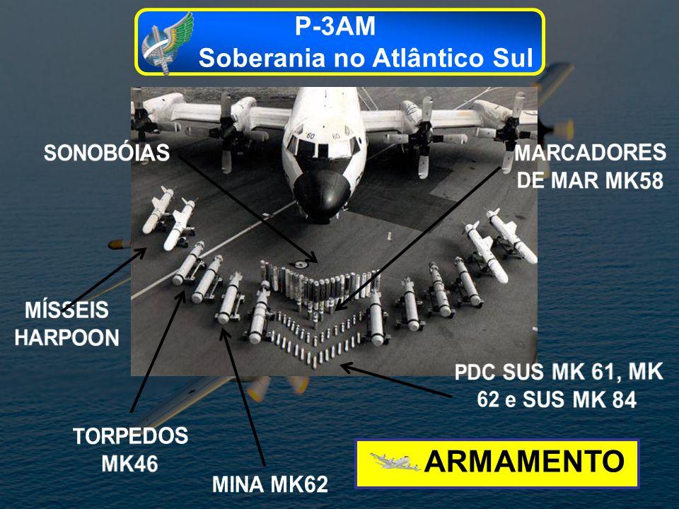 ARMAMENTO P-3AM Soberania no Atlântico Sul
