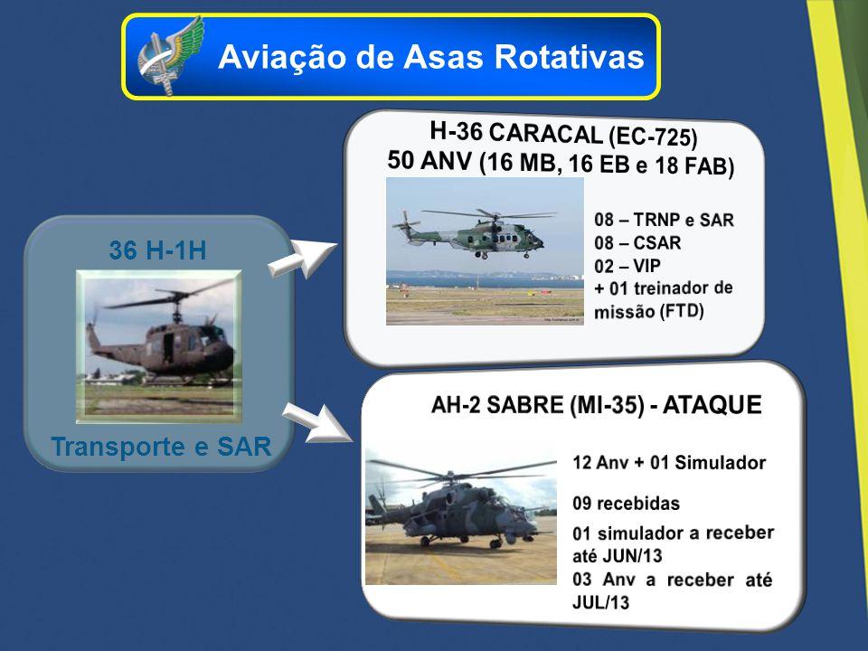 36 H-1H Transporte e SAR Aviação de Asas Rotativas