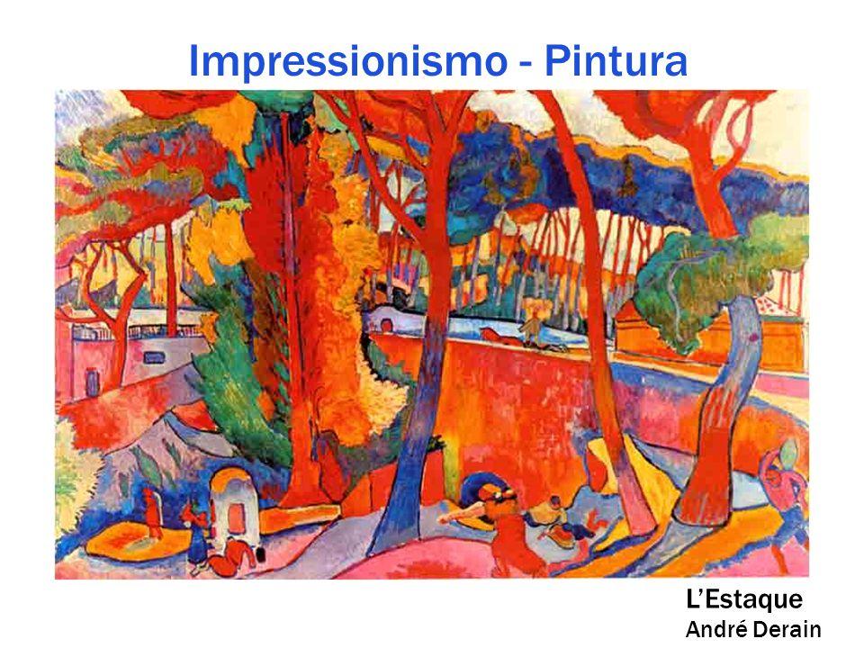 Impressionismo - Pintura L'Estaque André Derain