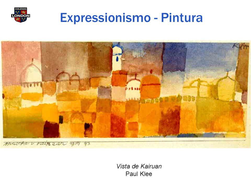 Vista de Kairuan Paul Klee Expressionismo - Pintura