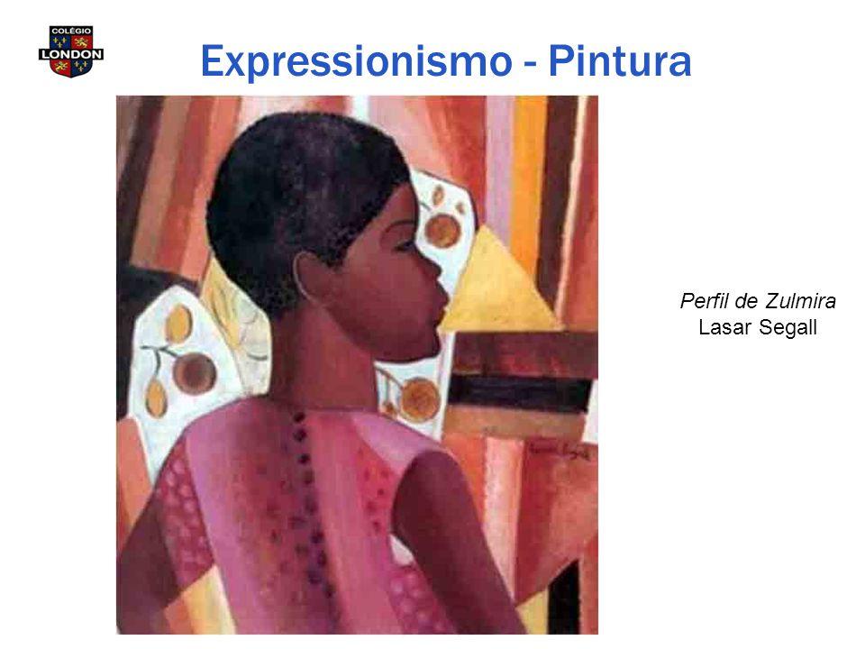 Perfil de Zulmira Lasar Segall Expressionismo - Pintura