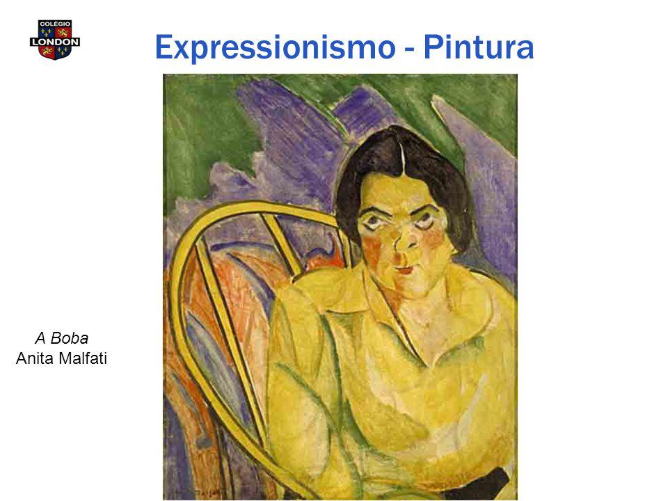A Boba Anita Malfati Expressionismo - Pintura